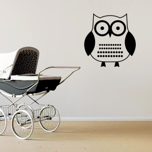 Wallsticker ugle